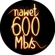 Nawet 600Mb/s