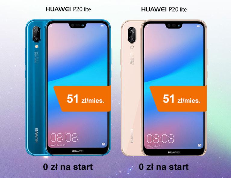Huawei P20 lite za 0 zł na start