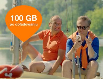 Lato pełne internetu Orange na kartę