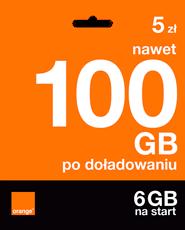 Starter: 5zł | nawet 100 GB po doładowaniu | 6 GB na start