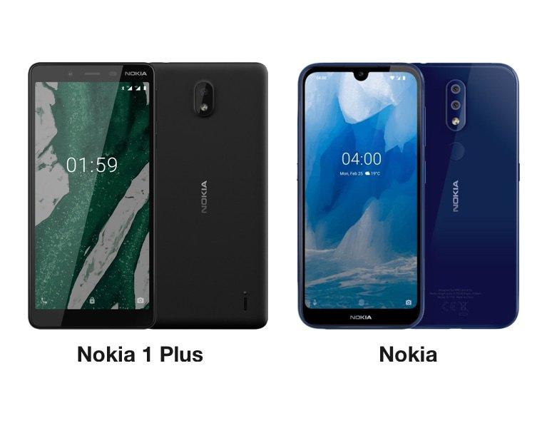 Nokia 1 Plus i Nokia 4.2