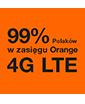 99% Polaków w zasięgu Orange 4G LTE