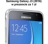 Samsung Galaxy J3 (2016) w prezencie za 1 zł