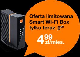Ofera limitowana Smart Wi-Fi Box teraz tylko 4,99 zł/mies.
