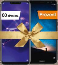 Huawei Mate 20 lite dual SIM + Huawei Mate 10 lite dual SIM w prezencie za 60 zł/mies.