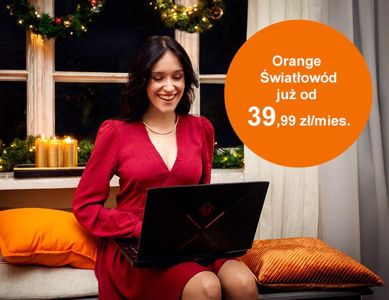 Orange Światłowód już od 39,99 zł/mies.
