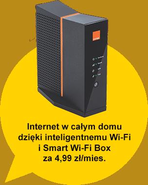 Internet w całym domu dzięki inteligentnemu Wi-Fi i Smart Wi-Fi Box za 4,99 zł/mies.