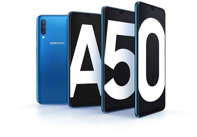 Zachwycający wyświetlacz Samsung Galaxy A50