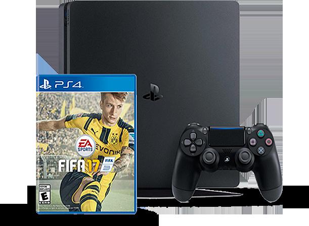 Sony Playstation 4Slim 1 TB z grą FIFA 17