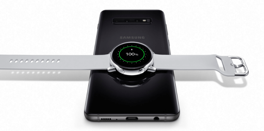 Samsung Galaxy S10 wraz z Galaxy Watch Active
