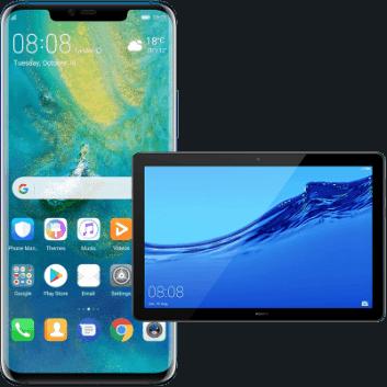 Huawei Mate 20 w zestawie z tabletem Huawei MediaTab