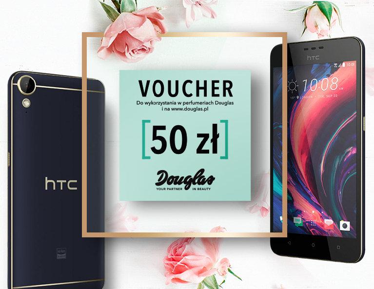 HTC + Douglas Voucher