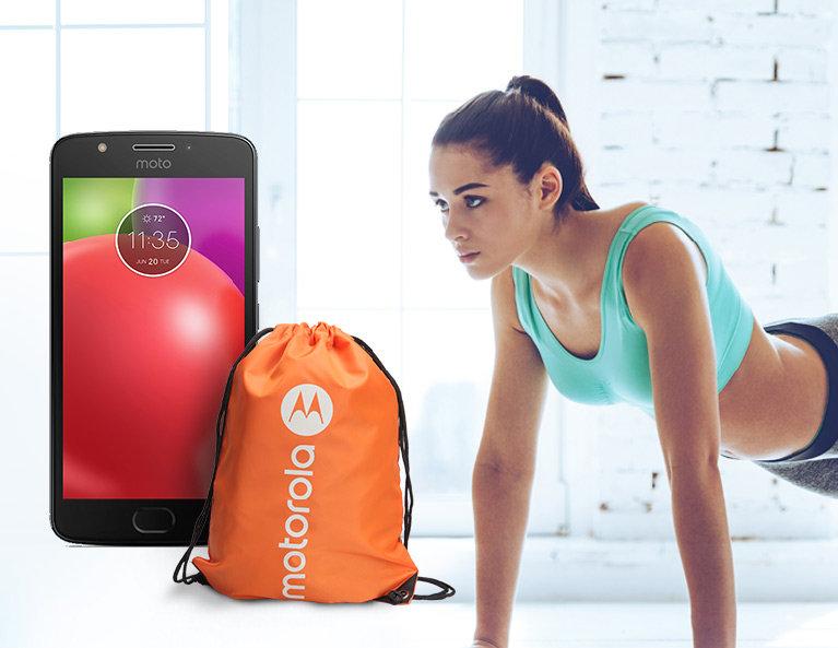 Motorola + plecak