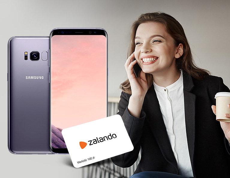 Samsung S8 + Voucher Zalando