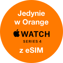 Jedynie w Orange Apple Watch z eSIM
