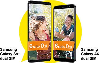 Samsung Galaxy S9+ 6 rat 0 zł || Samasung Galaxy A6